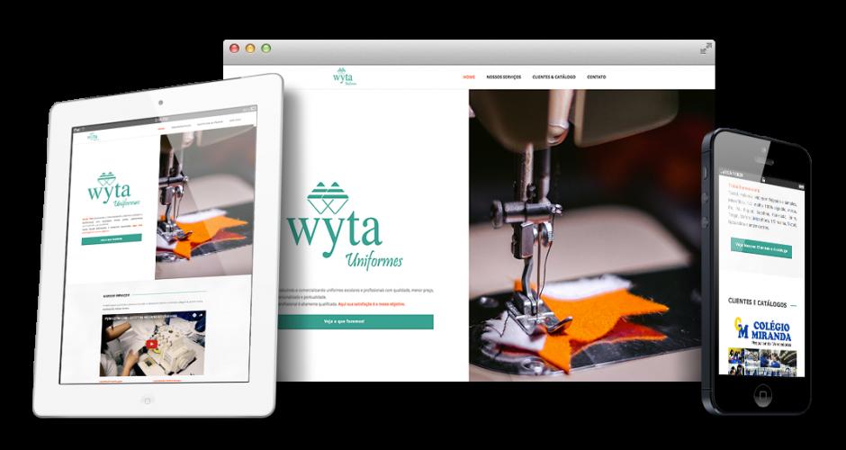 Site: Wyta Confecções